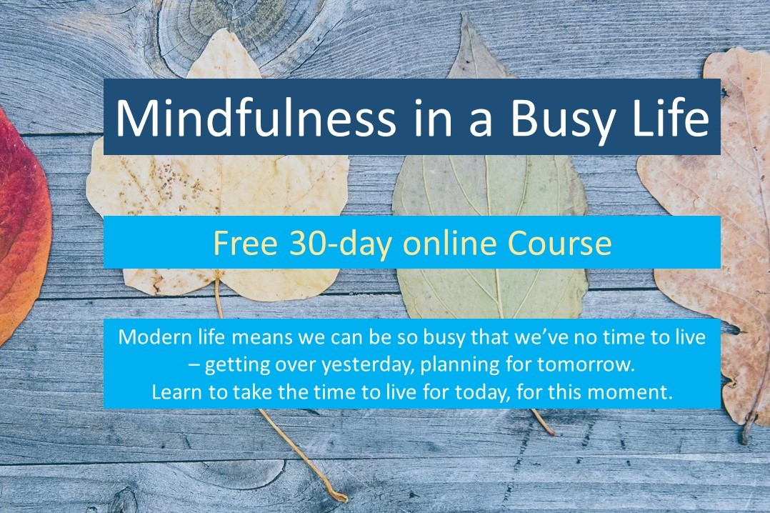 mindfulness in a busy life