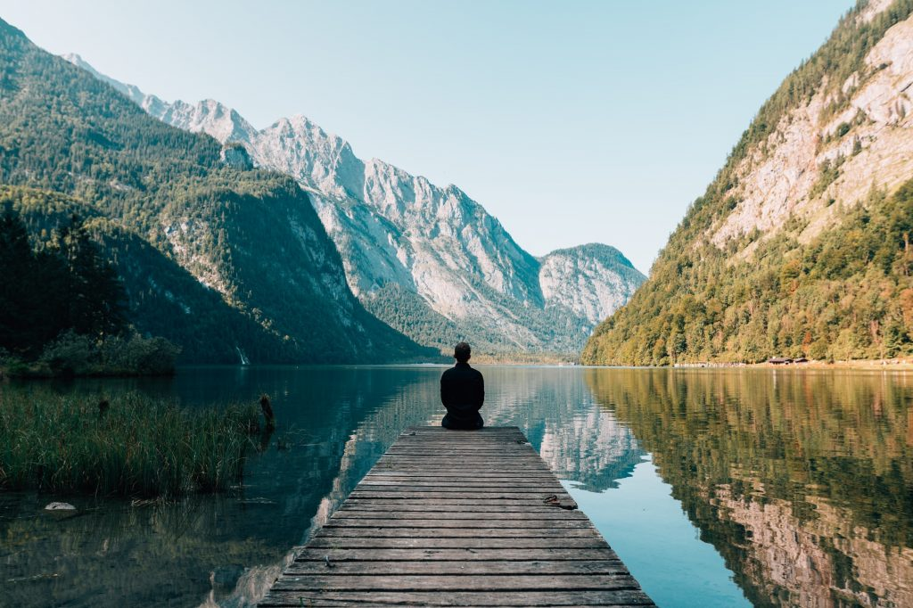 doing meditation